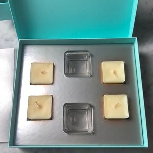 Tiffany & Co. Accessories - New Tiffany & Co Original Set 2 Crystal Candles